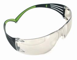 Защитные очки SecureFit™ 400, черный/зеленый, серые,2C-1.2, UV, защита от царапин и запотевания