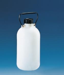 Бутылки для хранения, узкий рот, HDPE