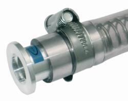 Вакуумный фиттинг, ПВХ трубки с малыми фланцами, DN 40, 500 мм