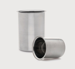 Стаканы из нержавеющей стали, 250 мл, 85 мм, 65 мм