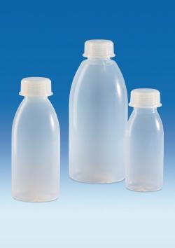 Бутылки с широкой горловиной и резьбой, PFA, 40 S, 96 мм