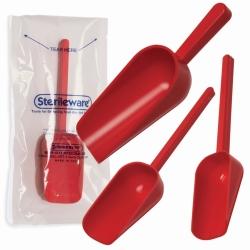 Совки и ложки для отбора проб, РS, стерильные, Совок, 250 мл, красный, 250 мл, Совок