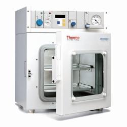 Компактный вакуумный сушильный шкаф, VT 6025, С вакуумным шаровым клапаном из нержавеющей стали, подключение инертного газа бесшовная камера и DN25 вакуумное соединение, 480 x 450 x 600 мм, 300 x 307
