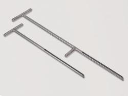 Пробоотборник почвы GeoSampler, нержавеющая сталь, 550 г, 17 мм