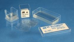 Обложка очки, прямоугольные, Borosilicate стекла D263® M, 18 мм, 18 мм