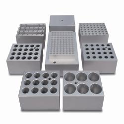 Алюминиевые блоки серии SHT, для блочных нагревателей Stuart серии SBH, без отверстий