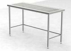 Столы для очистки с перфорированной рабочей поверхностью, 900 мм, 900 мм, 600 мм, 800 мм
