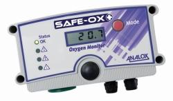 Анализатор повышения и понижения уровня кислорода Safe-Ox+™, UK, Safe-Ox+™