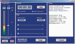 Система дистанционного управления Winsonic® DT для ультразвуковых бань Sonorex Digitec RC