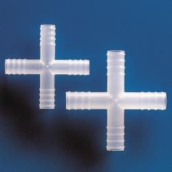 Переходники для шлангов, крестообразные, полипропилен, 9,5 мм, 13,5 мм