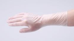 Одноразовые перчатки, ASPURE ПВХ, S, 280 мм