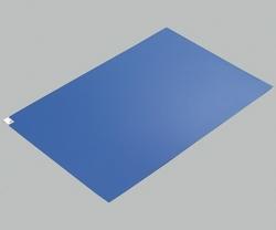 Клейкие коврики ASPURE, LDPE, синий, 45 мкм, Сильная адгезия, 600 x 1200 мм, 45 мкм