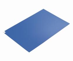 Клейкие коврики ASPURE, LDPE, синий, 45 мкм, 600 x 900 мм, 45 мкм, синий