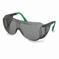 Сварочные очки 9161, черный/зеленый, серые/PC, защита 5