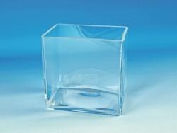 Стеклянная ванна, прозрачное стекло, 360 мм, 260 мм