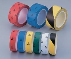 ASPURE ESD клейкая цветная лента, ПВХ, 33 м, 50 мм, черный/желтый, 50 мм, 33 м