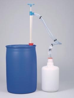 Газо-жесткий баррель насос, PP