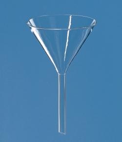 Воронки, Боросиликатное стекло 3.3, равнина, 9 мм, 80 мм