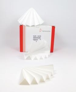 Фильтровальную бумагу 602h / 602eh, качественные, сложенные фильтры, 602h, 320 мм