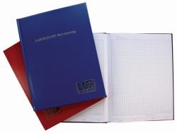 Лабораторный блокнот - LLG, синий, клетка