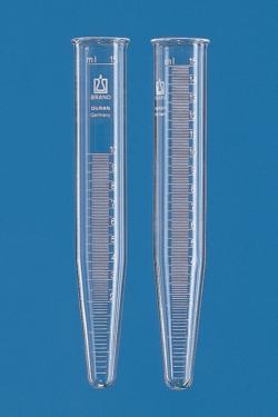 Центрифужные пробирки, AR-GLAS® или боросиликатное стекло 3.3, градуированные, 1 мм, 17 мм