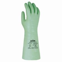 Химические защитные перчатки uvex rubiflex S, БНК, 9, 600 мм