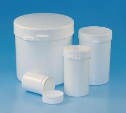 Контейнеры для проб с пломбой. Полистирол и полипропилен., -, 250 мл, 64 мм, 95 мм
