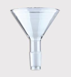 Воронки для сыпучих реагентов с NS-шлифом, боросиликатное стекло 3.3, 26 мм, 29/32
