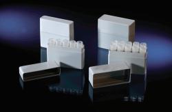 Микробоксы для пробирок CryoTubes™, полистирол, 10 пробирок CryoTubes™ 1,0 ... 1,8 мл