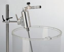 Промышленные мешалки со сжатым воздухом BSR 64 с напольной подставкой, 200 л, 640 Вт, BSR 64/30-A-V, 300 об/мин, 100000 мПа