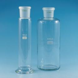 Бутылка для очистки газов, боросиликатное стекло 3.3, 75 мм, 200 мм