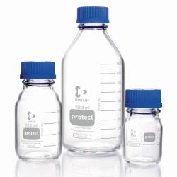 Лабораторные бутылки Protect DURAN®, с отслеживающим кодом, 45 GL, 95 мм