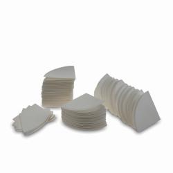 Фильтровальная бумага, диски, согнутый квадрант, целлюлоза, 0,06, 150 мм