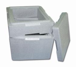 Изолирующая коробка с крышкой, EPS, 101,5 л
