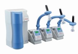 Система для получения ультрачистой воды Barnstead™ GenPure xCAD Plus с отдельными диспенсерами, Plus UV/UF*, Молекулярная биология, ПЦР, ДНК, исследования in vitro, моноклональные антитела, клеточные