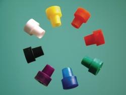 Колпачки для 3 и 5 мм ЯМР- и ЭПР-пробирок, Черные, 5 мм пробирки