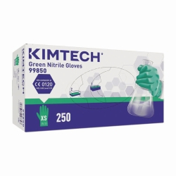 Одноразовые перчатки Kimtech™ Green Nitrile, 250 мм, XL (9-10)
