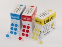 Этикетки для глубокой заморозки TOUGH-SPOTS®, синий, 9,5 мм