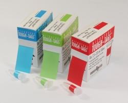 Этикетки Tough-Tags®, синий, 33 x 13 мм