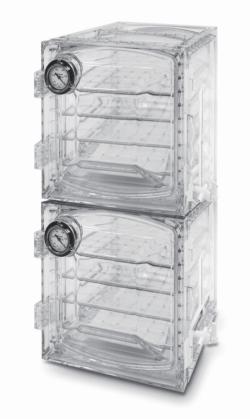 LLG-Вакуумный шкаф эксикатор, поликарбонат, прямоугольной формы, ''Heavy Duty'', 6, 45 л
