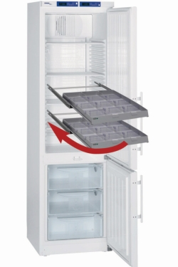 Ящики AluCool® для холодильников с разделителями, B, 435 х 440 мм