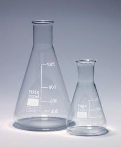 Конические колбы, Pyrex®, 85 мм, 18 мм