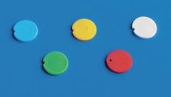 Цветные вставки для крышек, ПП для реакционных пробирок, красный
