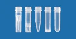Микропробирки, ПП, без винтовыми крышками, -, 2,0 мл, неградуированные, круглое дно, 20000 RZB